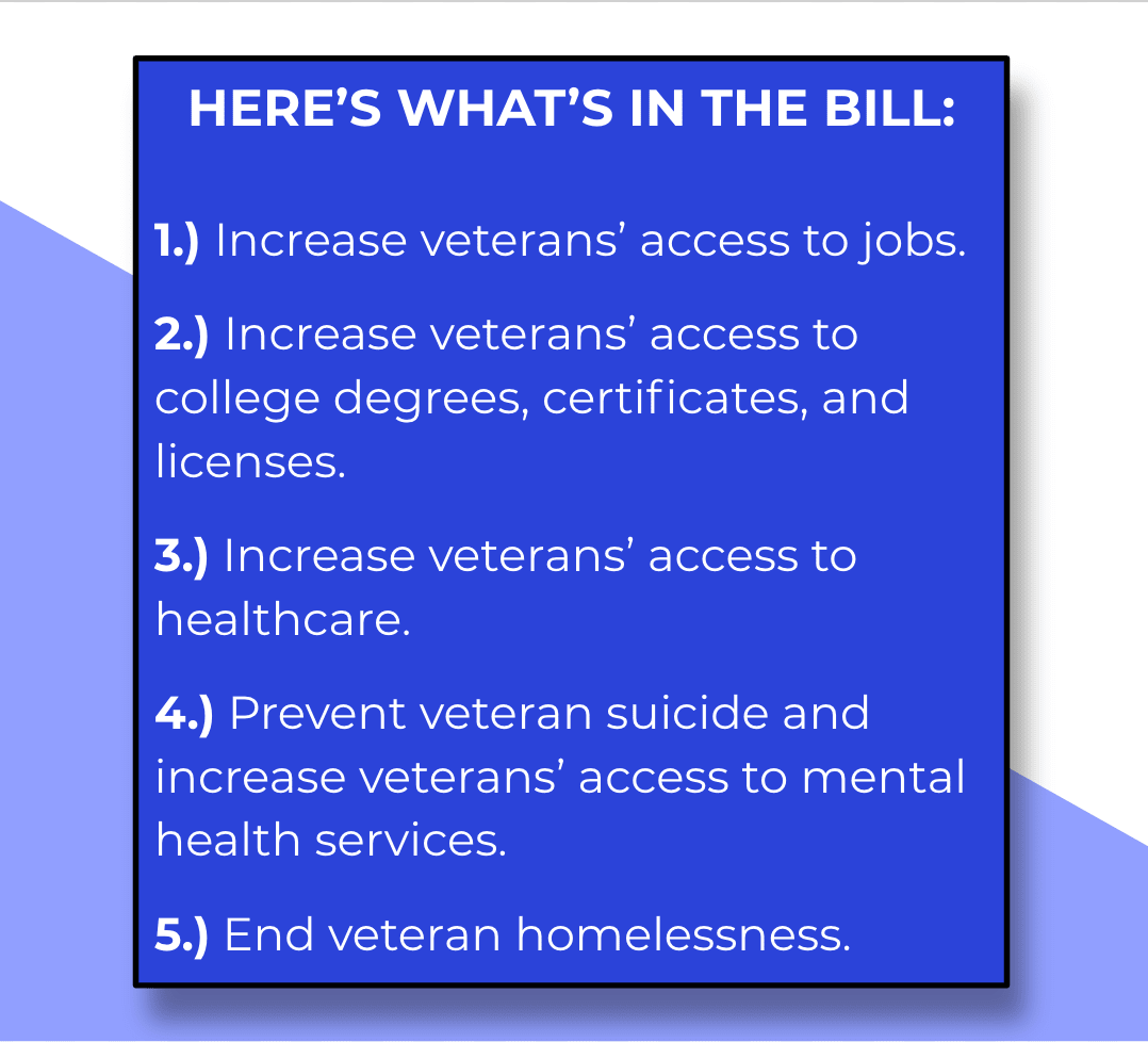 Veterans Bill of Rights Summary